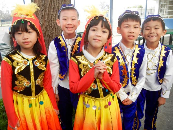 Our Chinese Immersion Students put on a spectacular show for the entire school. Cultural dances and song were performed by kindergarten through 5th grade classes.
